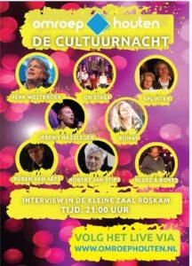 Cultuurnacht interviews Omroep Houten
