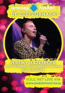 Optreden Jeremy Cultuurnacht